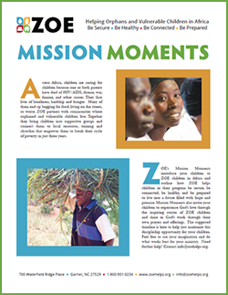 Mission Moment Cover