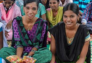 Girls in India
