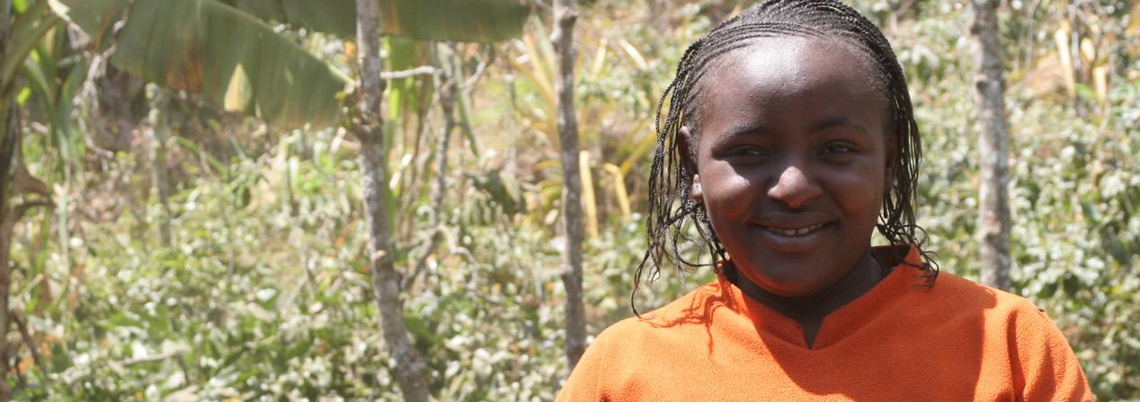 Orphan in Kenya
