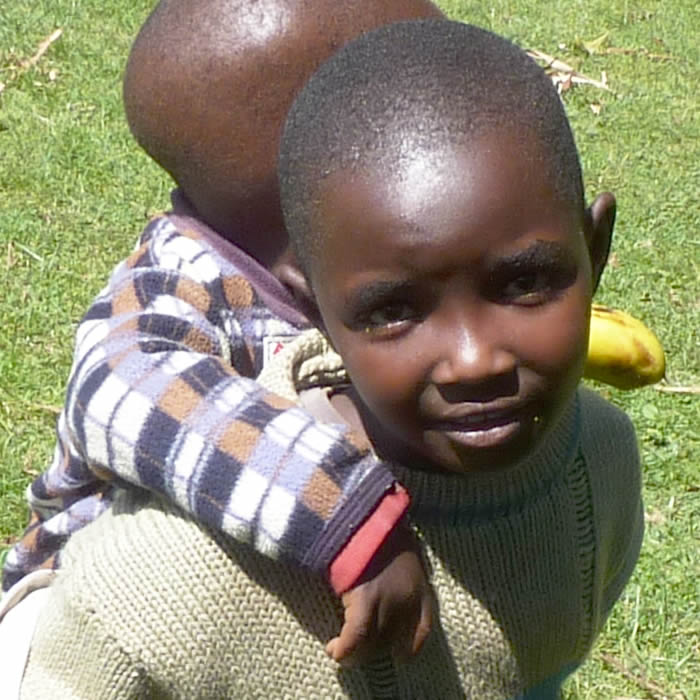 Boy from Kenya
