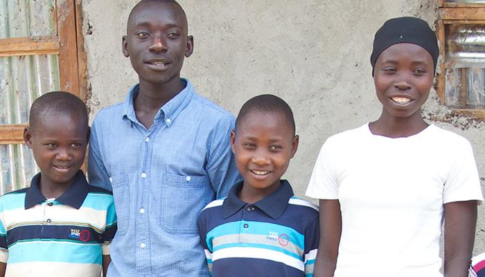 Orphan Family in Rwanda