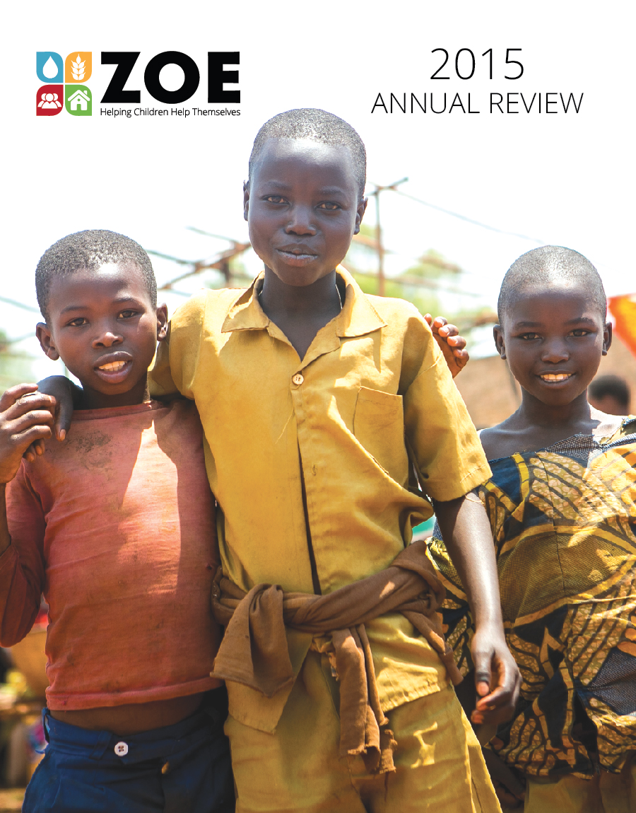 2015 Annual Review Cover