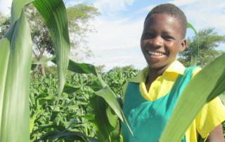 Girl in Malawi