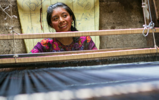 Girl with Loom